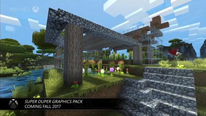 E3 2017 Microsoft Press Conference Minecraft