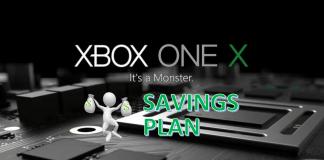 Xbox One X Savings Plan