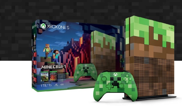 Xbox One S Minecraft Edition Bundle