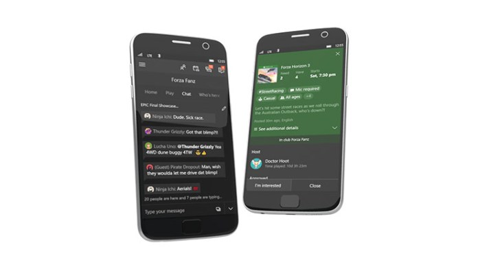 xbox live party chat publicly available on iOS and Android