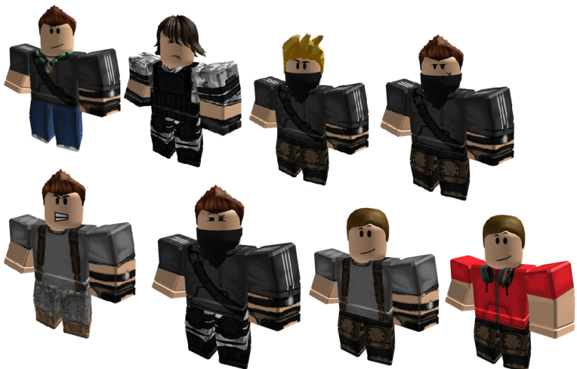 All my Roleplay characters into a photo