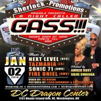 "SHERLOCK PROMOTIONS PRESENTS A NIGHT CALLED ""GASS"""