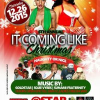 LOVELINE MUZIK LIVE AT STARBWOYS ITS COMING LIKE CHRISTMAS DEC 26 2015