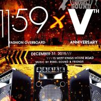 REBEL SOUND VTH ANNIVERSARY PARTY NEW YEARS EVE/NEW YEARS DAY 2016