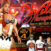 SMOKE INFINITY AT WILD THOUGHTS PINKY'S BIRTHDAY BASH 4TH NOVEMBER 2017
