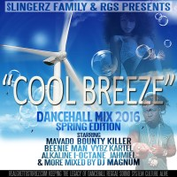 SLINGERZ FAMILY AND RGS PRESENTS COOL BREEZE DANCEHALL MIX TAPE