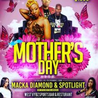 SLINGERZ FAMILY PRE MOTHER'S DAY PARTY AT WEST VYBZ SPORTS BAR  12TH MAY 2018
