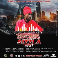 BOBBY KUSH PRESENTS ENTERTAINMENT CITY EPISODE 7 EARTHSTRONG BLESSINGS TO SIZZLA KALONJI