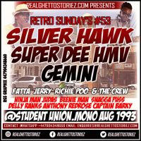 RETRO SUNDAYS 53 – SILVER HAWK VS SUPER DEE VS HMV VS GEMINI AT STUDENT UNION AUG 1993