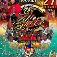 STONE LOVE X DJ SIZZLE IN LINSTEAD 27TH DECEMBER 2017