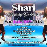 SHARI BIRTHDAY CELEBRATION FEATURING UNITY FAMILY FEB 2016