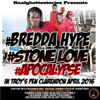 BREDDA HYPE LS STONE LOVE LS APOCALYPSE IN TROYS PEN APRIL 2016