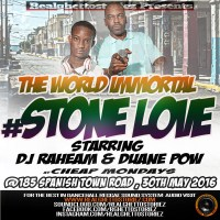 STONE LOVE AT CHEAP MONDAYS 30-05.16