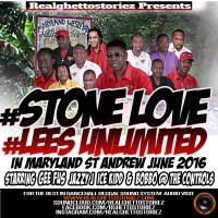 STONE LOVE AND LEES UNLIMITED IN MARYLAND, ST ANDREW JUNE 2016