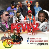 XCLUSIVE SOUND SUMMER 16 FEVER MIX CD