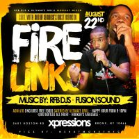 FIRE LINKS, RFB DJS AND FUSION SOUND AT MONDAY MIXER AUGUST 2016