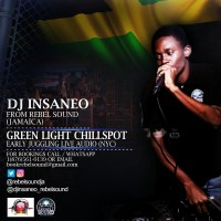DJ INSANEO FROM REBEL SOUND AT GREEN LIGHT CHILL SPOT EARLY WARM UP
