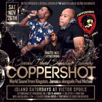 PAUL MICHAEL AND COPPERSHOT AT ISLAND SATURDAY'S 28TH NOVEMBER 2016