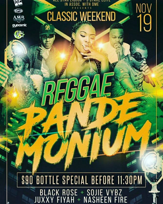 NASHEEN FIRE AT REGGAE PANDEMONIUM AT THE SPOT EVENT CENTER 19TH NOVEMBER 2016