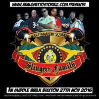 SLINGERZ FAMILY IN MIDDLE WALK BUXTON 27TH NOVEMBER 2016