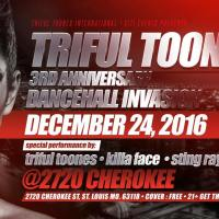 TRIFUL TOONES 3RD ANNIVERSARY AT 2720 CHEROKEE ST LOUIS