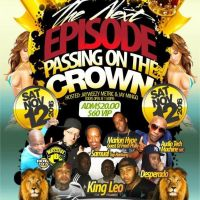 KING GHETTO AT THE NEXT EPISODE PASSING ON THE CROWN PARTY NOV 2016