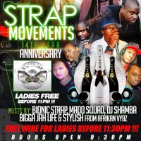 STRAP MOVEMENTS 14TH YR ANNIVERSARY 2017