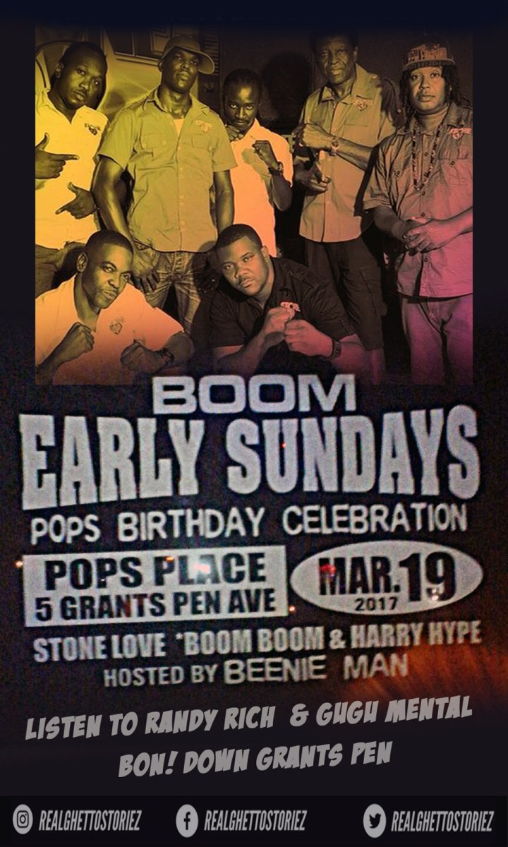 STONE LOVE SLOW JAM JUGGLING AT EARLY BOOM SUNDAYS 19TH MARCH 2017
