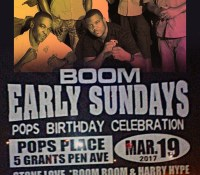 STONE LOVE LS BOOM BOOM LS HARRY HYPE AT BOOM EARLY SUNDAY'S 19TH MARCH 2017