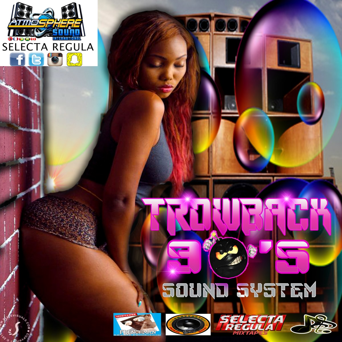 THROWBACK 90S SOUND SYSTEM MIX BY SELECTA REGULA