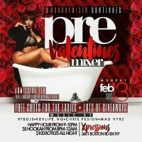MONDAY MIXER – PRE VALENTINES MIXER FEB 13TH 2017
