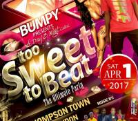 DICER MOVEMENTS AT TWO SWEET TO BEAT IN THOMPSON TOWN 1ST APRIL 2017