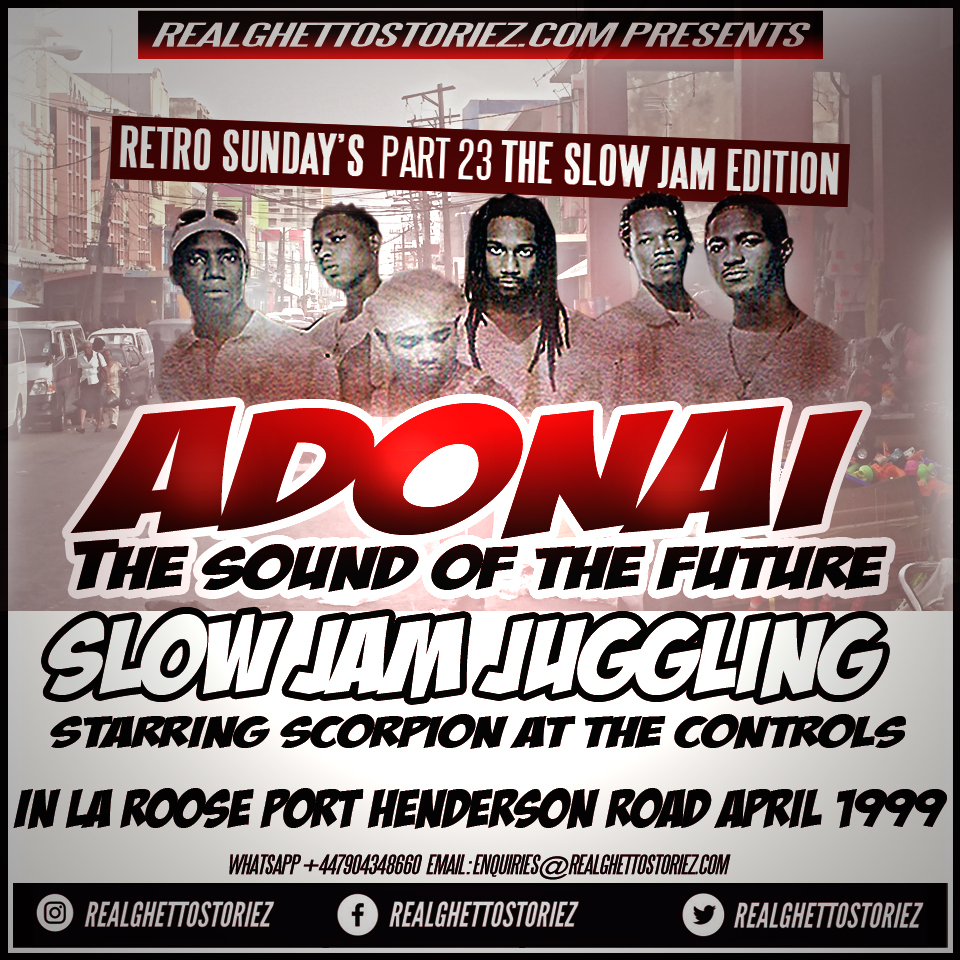 RETRO SUNDAY'S PT 23 - ADONAI SLOW JAM JUGGLING APRIL 1999