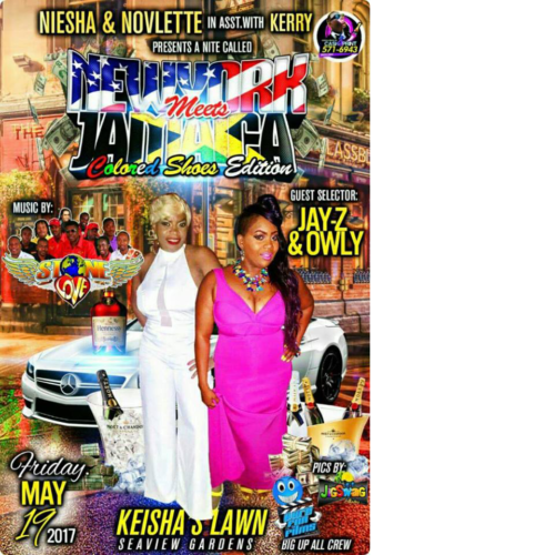 NEW YORK MEETS JAMAICA IN SEA VIEW 18TH MAY 2017