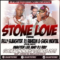 STONE LOVE AT CHEAP MONDAY'S EASTER MONDAY 17TH APRIL 2017