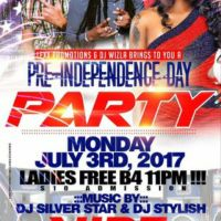 DJ STYLISH FORM AFRIKAN VYBZ SOUND AN JASON SILVER STAR INNA A PRE INDEPENDENCE DAY BASH AT VIBES
