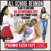 BOBBY KUSH THE ENTERTAINMENT BOSS – ALL SCHOOL REUNION 4TH NOV PROMO KUSHTAPE