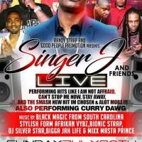 SINGER J AND FRIENDS LIVE IN JACKSONVILLE FLORIDA JULY 30TH 2017