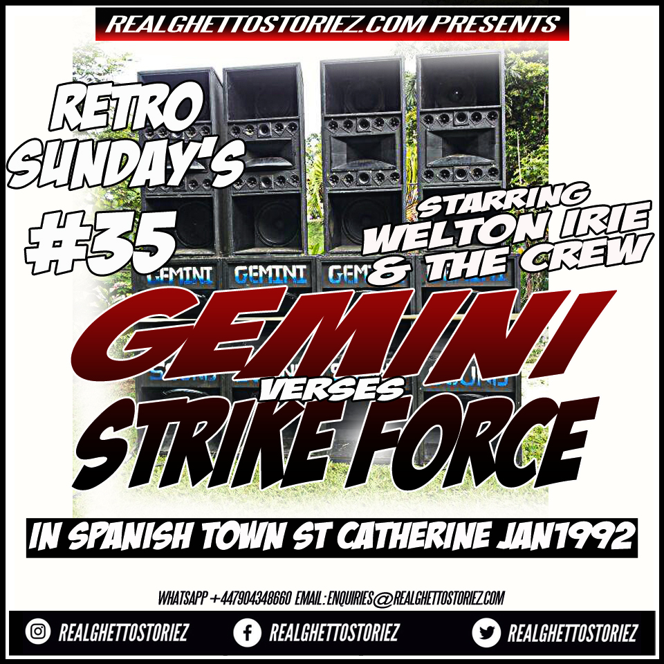 RETRO SUNDAY'S 35 - GEMINI VS STRIKE FORCE @CAYMANAS JAN 1992