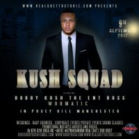KUSH SQUAD IN PUSEY HILL MANCHESTER