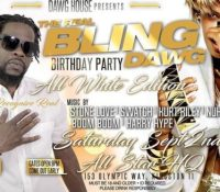 STONE LOVE LS SWATCH LS NUHGRAIN SOUND AT BLING DAWG BIRTHDAY PARTY  2ND SEPT 2017