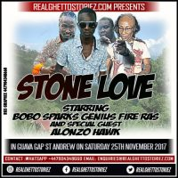 STONE LOVE AND ALONZO HAWK IN GUAVA GAP ST ANDREW 25TH NOVEMBER 2017