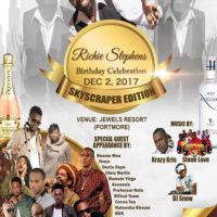 RICHIE STEPHENS BIRTHDAY PARTY AT JEWELS RESORT 2ND DEC 2017