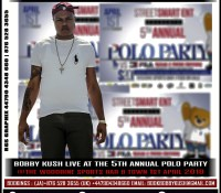 BOBBY KUSH LIVE AT THE 5TH ANNUAL POLO PARTY 1ST APRIL 2018