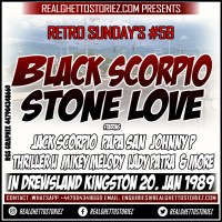 RETRO SUNDAYS 59 – BLACK SCORPIO VS STONE LOVE IN DREWSLAND JAN 1989