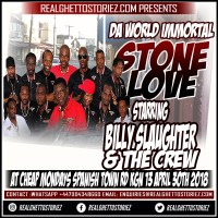 STONE LOVE AT CHEAP MONDAYS 30TH APRIL 2018