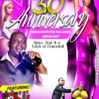 LOVE ZONE 30TH ANNIVERSARY IN ST THOMAS 7TH DECEMBER 2018