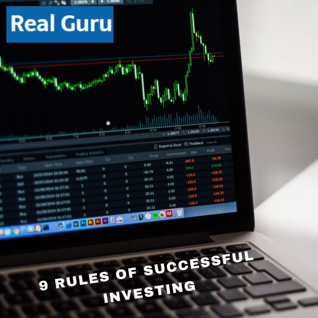 9 RULES OF SUCCESSFUL INVESTING