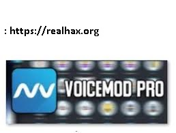 Voicemod Pro 1.2.6.8 Crack With Serial Key 2020