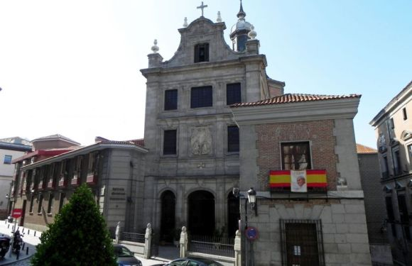 FUNERAL EN LA CATEDRAL CASTRENSE POR EL GRAL. JOSÉ COLLDEFORS VALCÁRCEL
